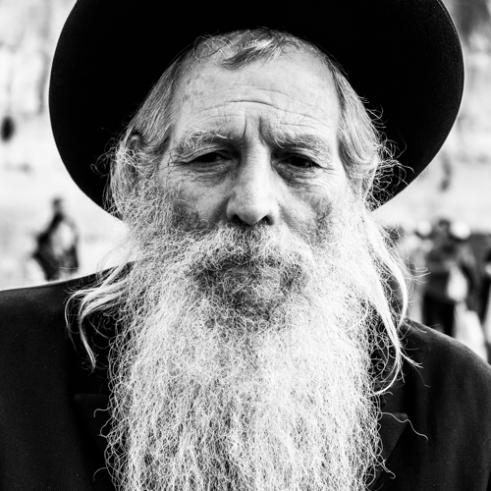 Old man in Jerusalem - Old City, Jerusalem
