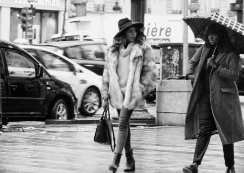street fashion photography essay paris london edge of  style in the rain