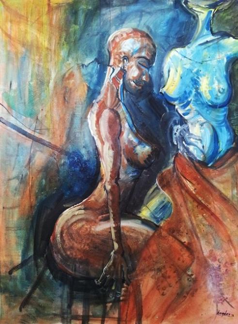 Temptation Oil on Canvas
