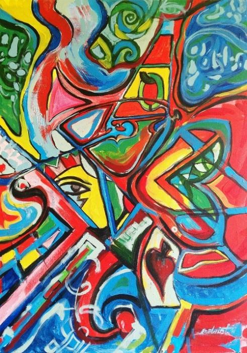 Troll Acrylic on Canvas
