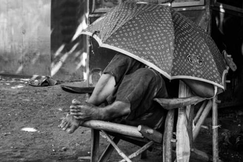 Under The Umrella Pyay, Burma