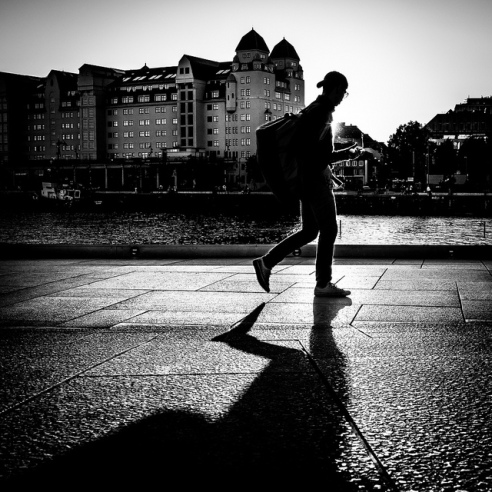 Against the sun – Oslo Norway