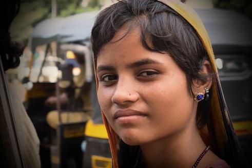Beggar. Mumbai, India.