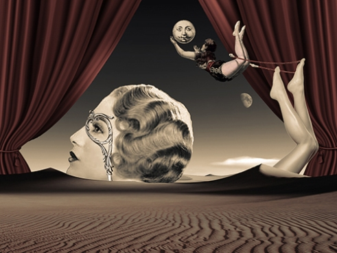 « Carnivale » Digital Collage by Hidden Velvet
