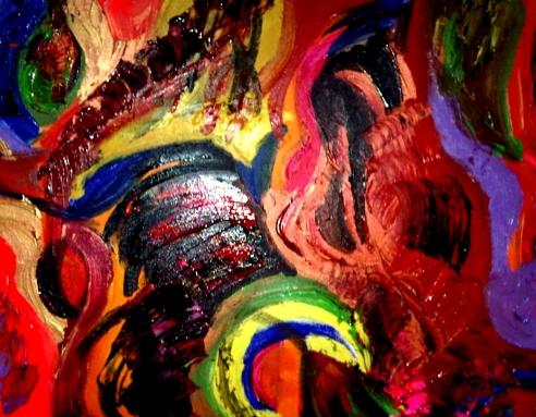 Damaged Mind - Acrylic on Canvas