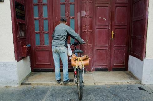 Doorway Budapest, Hungary