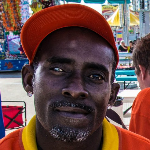 Half-Blind Man State Fair, Tampa, Florida