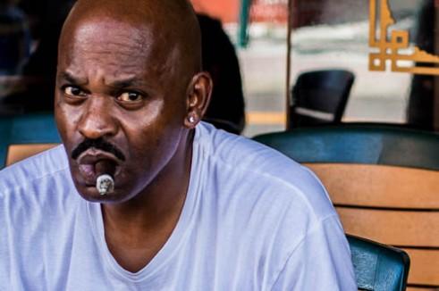 Man with Cigar Ybor City, Tampa, Florida
