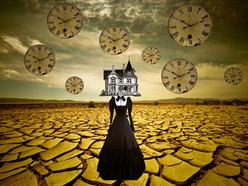 « Endless Time » Digital Collage by Hidden Velvet