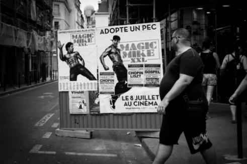Boulevard Saint-Michel, Paris, France