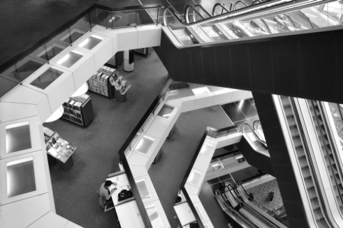 Library Rotterdam, Netherlands