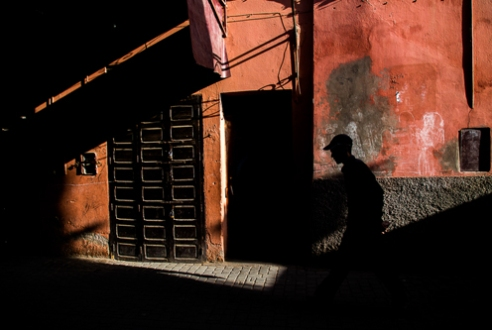 Colours and shadows Marrakech, Morocco 2015