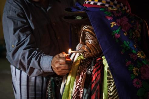 A Nicaragua tourist taken a clean soul from a Shaman.