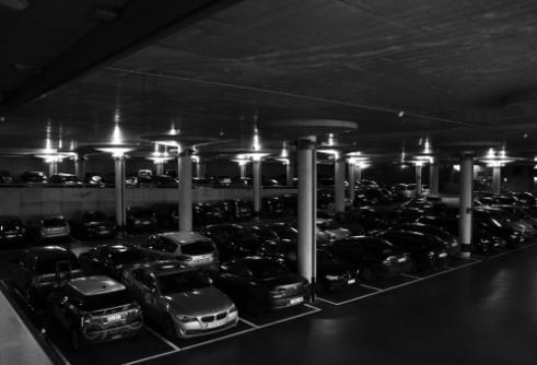 Parking Lot Leuven, Belgium
