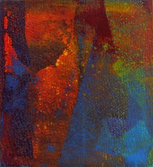 Gravity's Rainbow Gravity's Angel Acrylic on Hahnemuhle paper