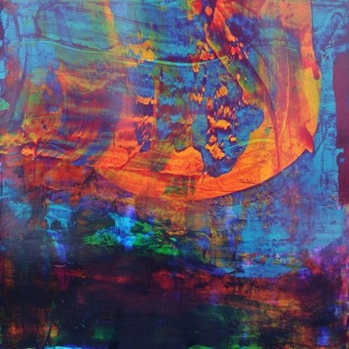 Lessons of Darkness – Lessons of Light Return Acrylic on Alu Di-bond