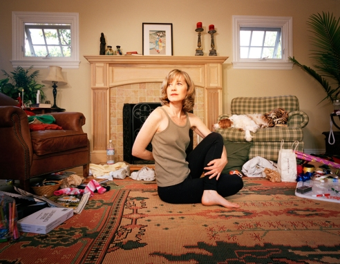 Kim, San Carlos, California.This housewife and mother of two uses yoga to tame the chaos of daily life.