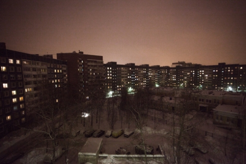 The city suburbs are composed of tall blocks of hundreds apartments, where, since the end of the Communism, people from different social classes live.