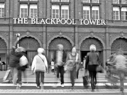 Crossing Blackpool