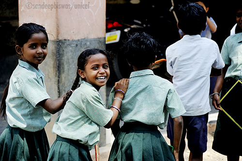 Social documentary photography helping children being children in india