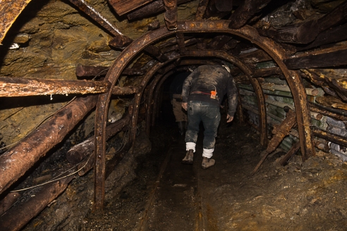 Visitor's Mine, Hopwell Colliery, Forest of Dean.