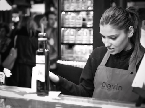 Olive oil lady