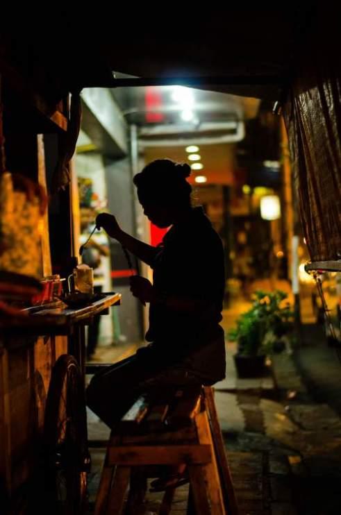 Tea time Jakarta Indonesia
