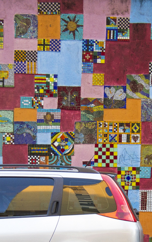 The Peugeots Mosaic