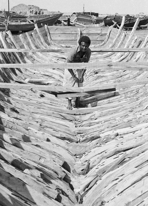 Boat builder Suakin Red Sea Coast Sudan