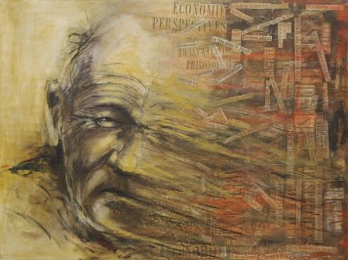 Mix media on canvas