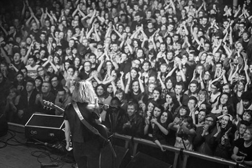 Sleater Kinney Manchester 2015