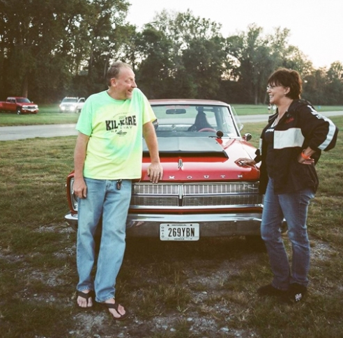 Racing Couple, Edgewater Motor Sports Park, Cleves, Ohio, 2015