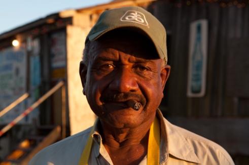 William Seaberry, owner of Po Monkey's Lounge, Merigold, Mississippi, USA (2011)