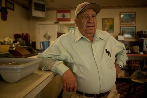 Lebanese restaurant owner, Clarksdale, Mississippi, USA (2011)