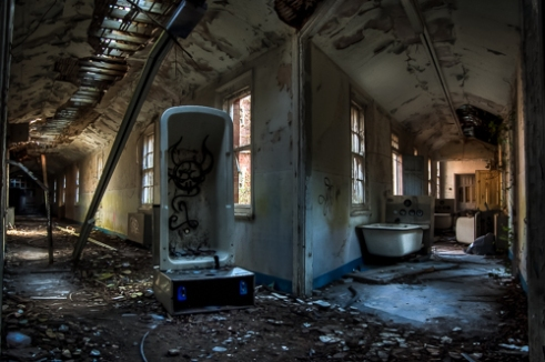 Hellingly hospital (demolished)