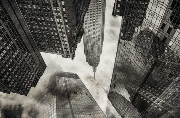 Surreal Architectural Photography New York City Edge Of Humanity