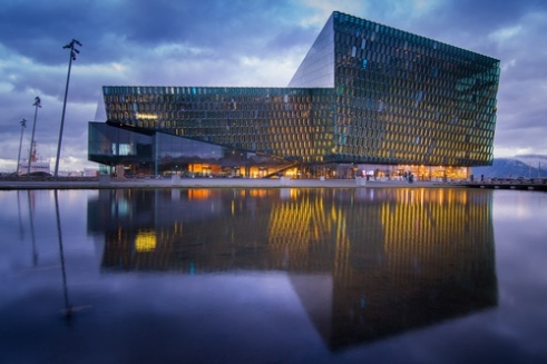Harpa Concert Hall and Conference Centre Reykjavik, Iceland.