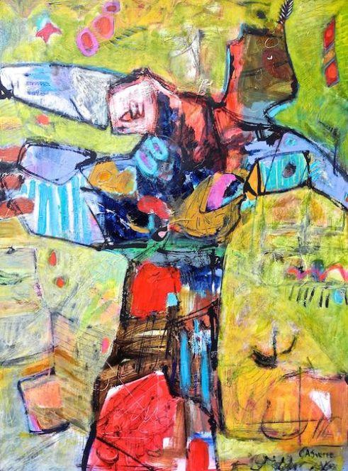 Balance Acrylic on canvas