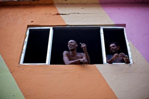 March 2011. Favela Dona Marta, Rio de Janeiro.