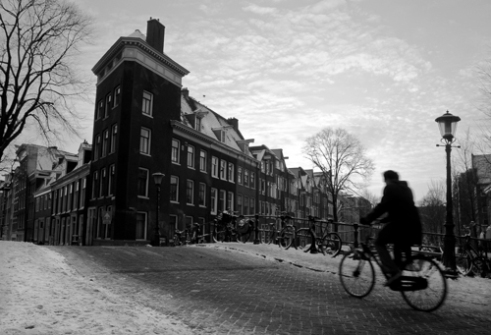 Bikes Prinsengracht, Amsterdam
