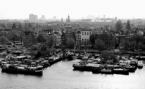 City view, Amsterdam