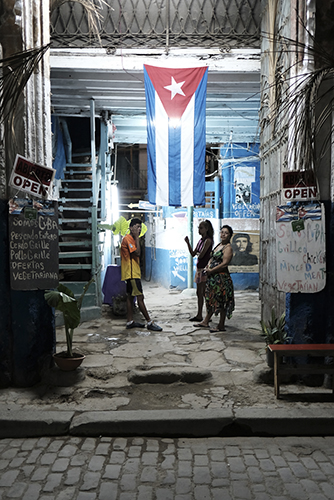 Open for business. Private business are on the rise in Cuba. Havana Cuba