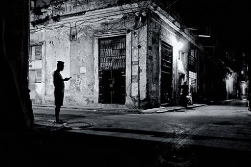 Habana Vieja night life