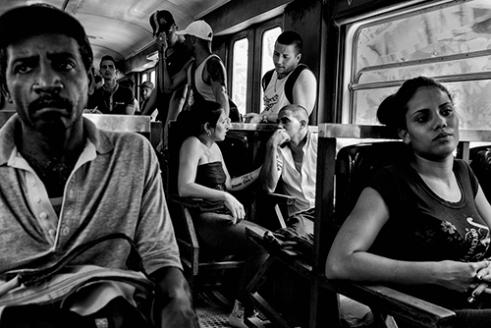 On board the Hersey Train, somewhere between Casablanca and Matanzas Cuba.