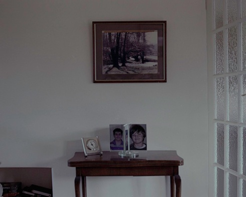 Image taken July 2015, at my Grandparents house in Cookham, England. The people in the pictures are my siblings and cousins, with the clock symbolising the time ticking for my grandparents, as the diseases they suffer with are progressive with age, and shows the start of the loss of memory with family members