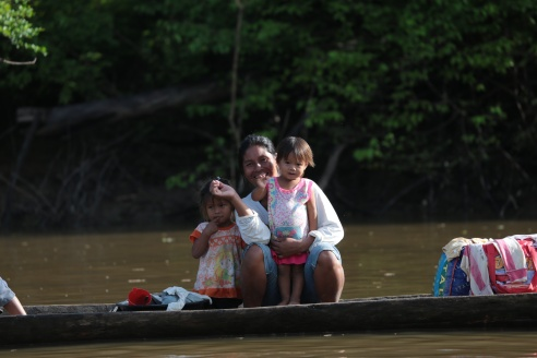 family on canoe-EOH