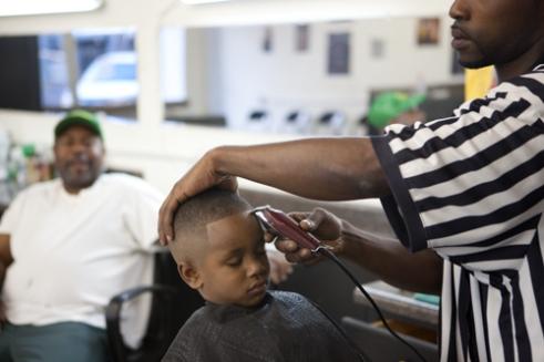 Barbershop, Clarksdale, Mississippi, USA (2011)