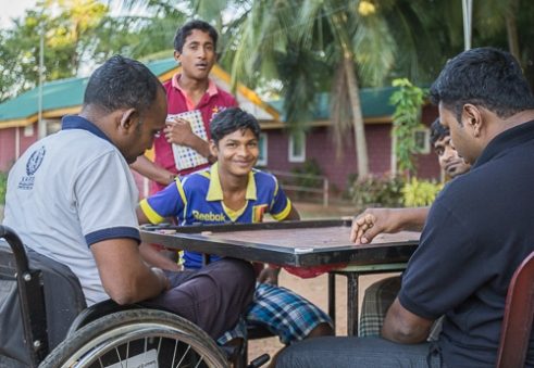 No matter the injury or disability those in need are helped Vavuniya, Sri Lanka, 2015