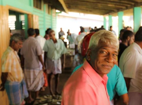 My friend, Spunniyalingam, whose warmth and generosity embodies the Tamil spirit (Mannar, Sri Lanka, 2015)