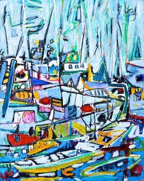 Smitty's Acrylic on canvas